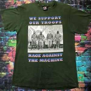 Rage Against The Machine We Support Our Troops Tee